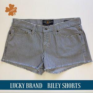 Lucky Brand Shorts Riley Jean Shorts 6